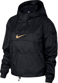 Nike Nsw Woven Animal kapucnis felső Nők fekete