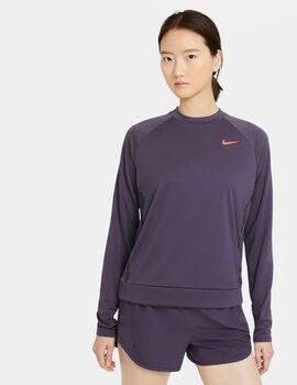 Nike W NK ICON CLSH MID női hosszúujjú felő Nők rózsaszín