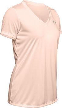 Under Armour Tech™ V-Neck Twist női póló Nők narancssárga