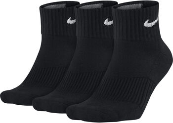 Nike Training Quarter sportzokni (3pár) Férfiak fekete