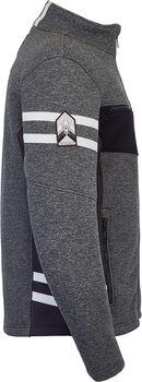 Spyder Wengen Encore FZ férfi fleece kabát Férfiak szürke