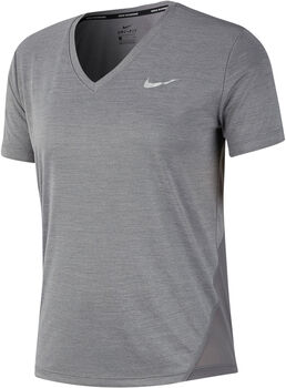 Nike Miler Running Top női futópóló Nők szürke