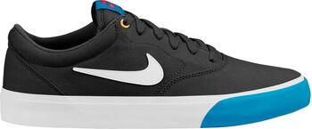 Nike SB Charge SLR CNVS férfi gördeszkás cipő fekete