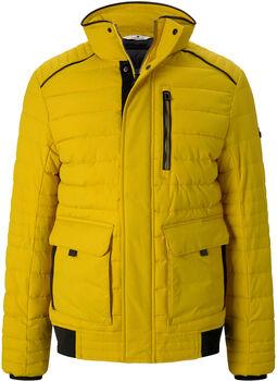 TOM TAILOR Quilted férfi kabát Férfiak sárga