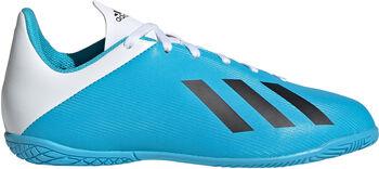 adidas  X 19.4 IN Jgyerek teremcipő kék