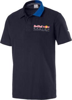 PUMA RBR Logo Polo Férfiak kék