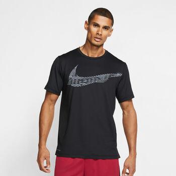 Nike Hyper Dry Graphic férfi póló Férfiak fekete