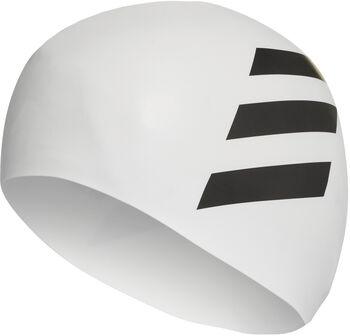 ADIDAS Silicon 3S úszósapka fehér