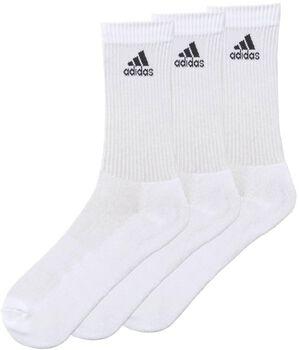 adidas 3-Stripes Adicrew sportzokni (3pár) törtfehér
