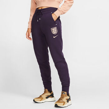 Nike England Tech Fleece Pants Nők lila