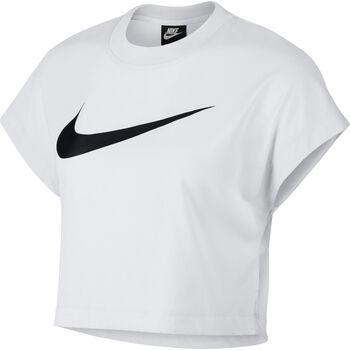 Nike Sportswear Swoosh SS Crop Top női póló Nők fehér
