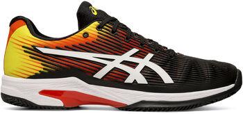 Asics Solution Speed FF CL férfi teniszcipő Férfiak narancssárga