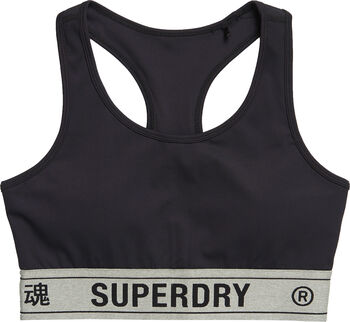 Superdry  Elastic Branői top Nők fekete