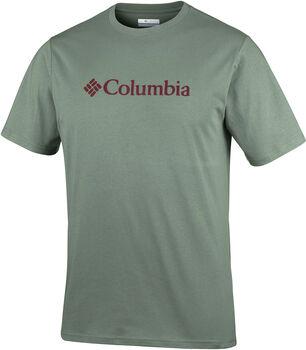 Columbia CSC Basic Logo S férfi póló Férfiak zöld