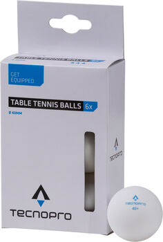 TECNOPRO 0 star pingpong labdák fehér