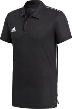 adidas Core18 férfi galléros póló Férfiak fekete