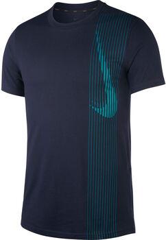 Nike Dri-FITShort-Sleeve Training Top Férfiak kék