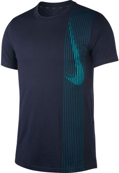Nike Dri-FIT SS Training férfi póló Férfiak kék