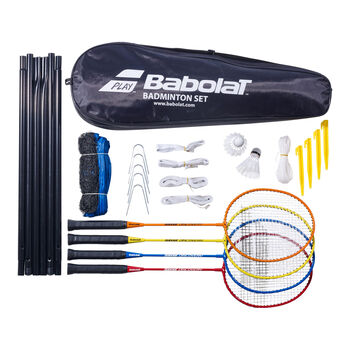 Babolat 4er Set tollasütő és háló szett fehér