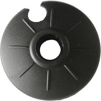 TECNOPRO Univerzális tányér 60 mm fekete