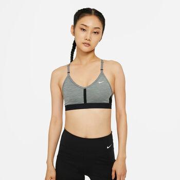Nike W Nk Indy Bra V-Neck melltartó Nők szürke