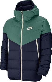 Nike Windrunner Down Fill kabát Férfiak zöld
