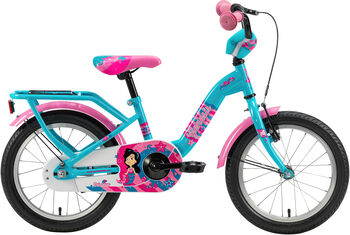 """GENESIS Princessa 16"""" lány kerékpár kék"""