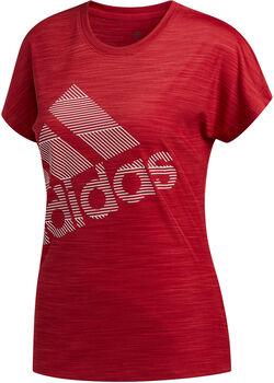 adidas SS BOS LOGO TEE Nők piros