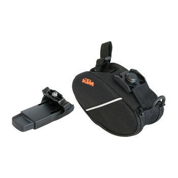 KTM kerékpáros hátizsák fekete