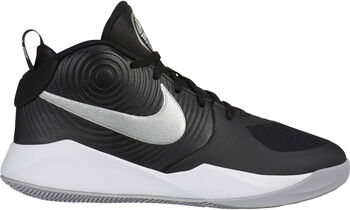 Nike Team Hustle D9 gyerek kosárlabdacipő fekete