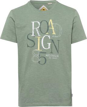 Roadsign 85 férfi póló Férfiak zöld