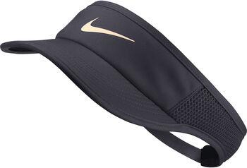 Nike Court Aerobill Tennis Visor napellenző Nők szürke