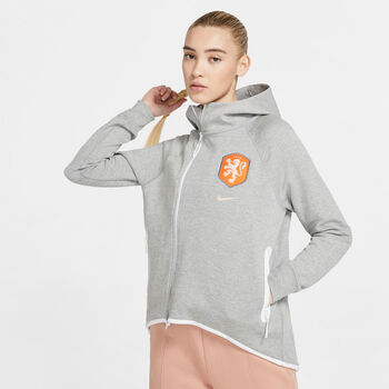 Nike Sportswear Netherlands Tech Fleece Cape Nők szürke