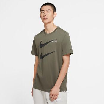 Nike Sportswear Swoosh férfi póló Férfiak zöld