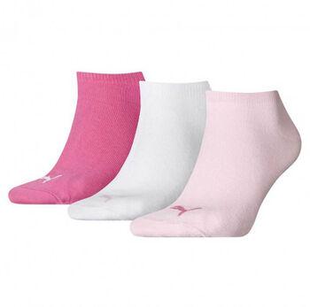 Puma Sneaker Invisible titok zokni (3 pár/csomag) rózsaszín