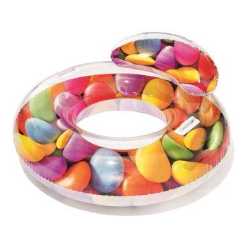 Bestway Candy Delight úszógumi fejtámasszal színes