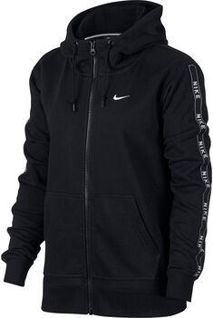 Nike Hoodie FZ Logo női kapucnis felső Nők fekete