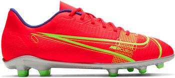 Nike  Jr. Vapor 14 Clubgyerek labdarúgó cipő piros