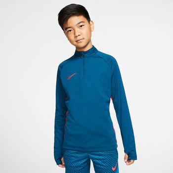 Nike Dri-FIT Academy Big Kids' Soccer Drill Top gyerek felső kék