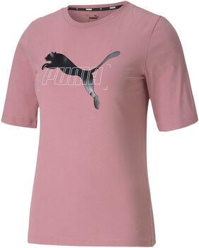 Puma  Nu-tility Teenői póló Nők rózsaszín