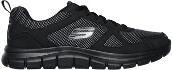 Skechers Track - Bucolo férfi fitneszcipő Férfiak fekete