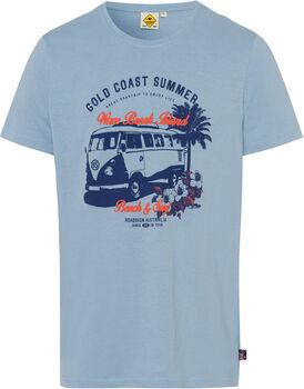 Roadsign Gold Coast férfi póló Férfiak kék