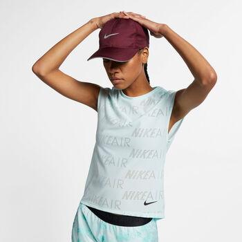 Nike W Top SS Air női futópóló Nők kék