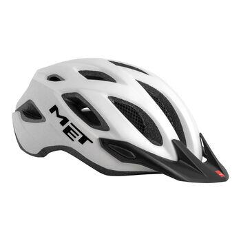 MET Crossover SMU kerékpáros sisak Férfiak fehér