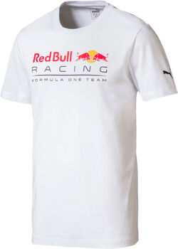 Puma RedBullRacing Logo Tee férfi póló Férfiak fehér