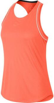 Nike ct Dry Tank női tenisz top Nők narancssárga