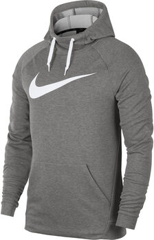 Nike Dri-FIT Training Hoodie férfi kapucnis felső Férfiak szürke