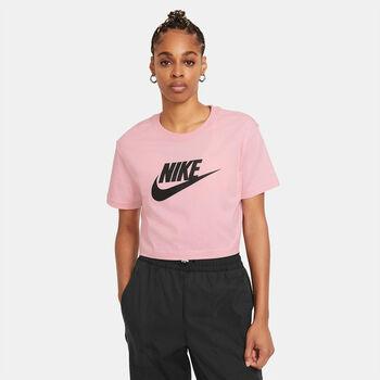 Nike Essential Cropped női póló Nők piros