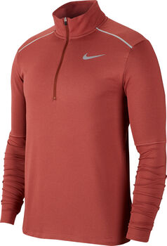 Nike Element 3.0 HZ férfi hosszú ujjú futófelső Férfiak barna