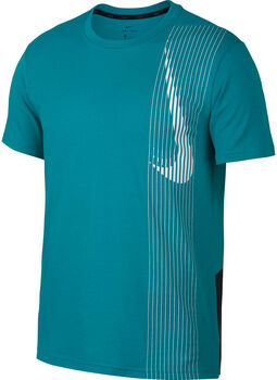 Nike Dri-FITShort-Sleeve Training Top Férfiak zöld